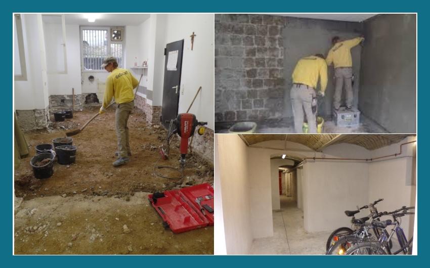 DeGraaff Bautenschutz GmbH Sanierungsarbeiten  Bonn, Königswinter, Sankt Augustin