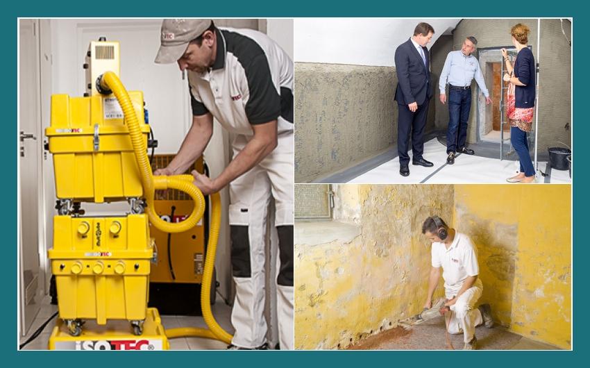 ISOTEC GmbH - professionelle Kellersanierung in Ravensburg, Göppingen, Hohberg, Bruchsal